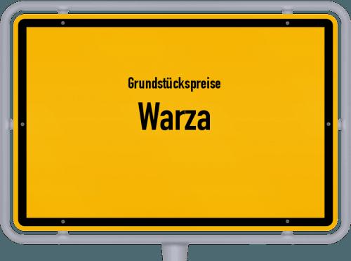 Grundstückspreise Warza 2019