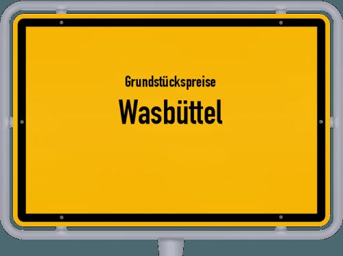 Grundstückspreise Wasbüttel 2021