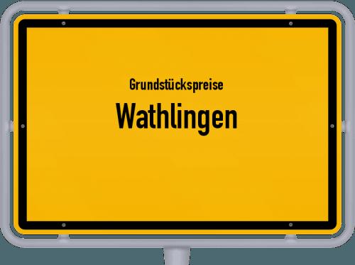 Grundstückspreise Wathlingen 2021