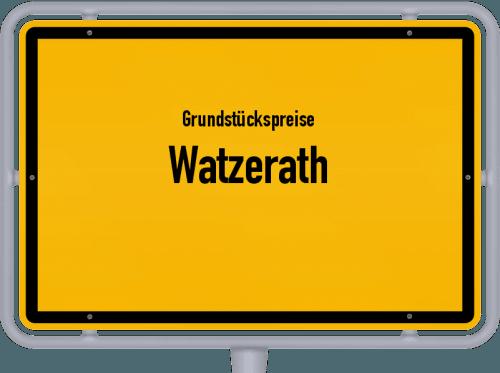 Grundstückspreise Watzerath 2019