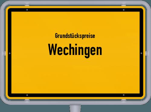 Grundstückspreise Wechingen 2021