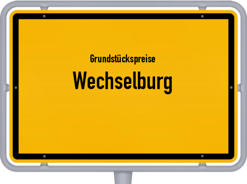 Grundstückspreise Wechselburg 2019