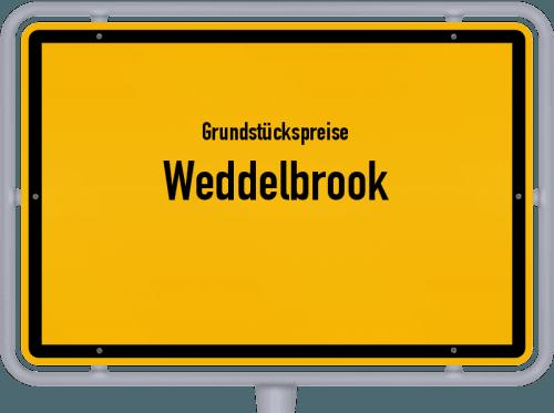 Grundstückspreise Weddelbrook 2021
