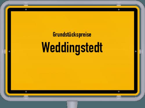 Grundstückspreise Weddingstedt 2021