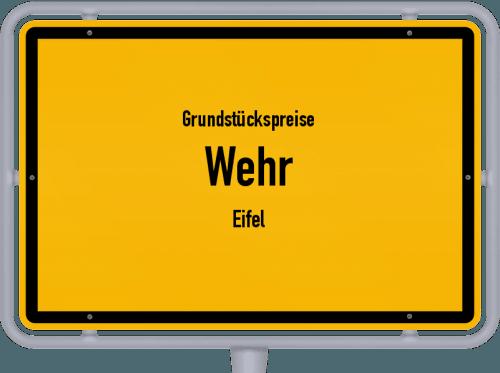 Grundstückspreise Wehr (Eifel) 2019