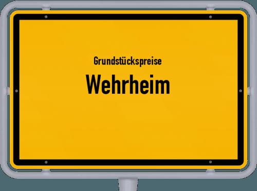 Grundstückspreise Wehrheim 2019