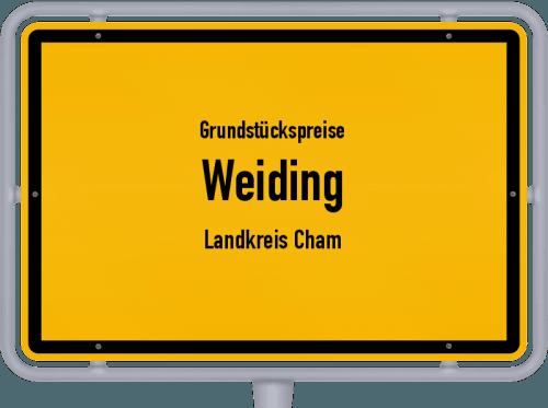 Grundstückspreise Weiding (Landkreis Cham) 2019
