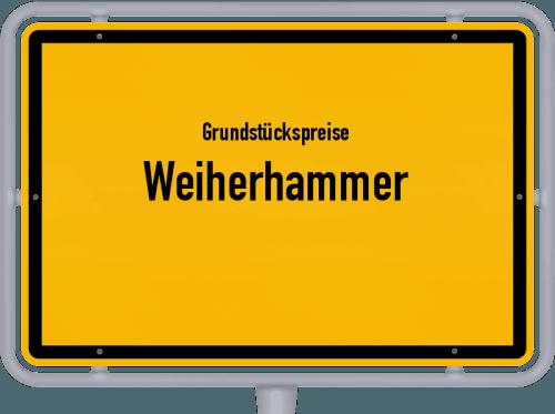 Grundstückspreise Weiherhammer 2019