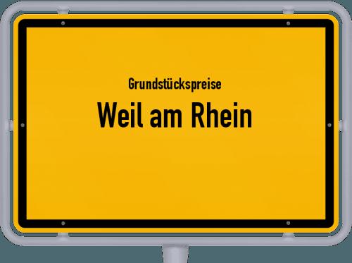 Grundstückspreise Weil am Rhein 2021