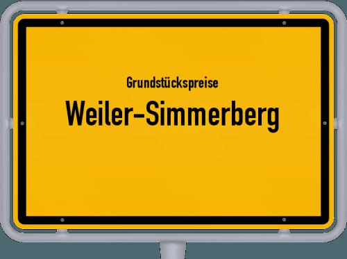 Grundstückspreise Weiler-Simmerberg 2019