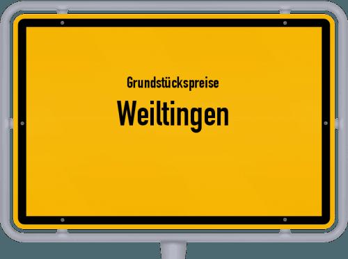 Grundstückspreise Weiltingen 2019