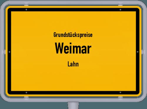 Grundstückspreise Weimar (Lahn) 2018