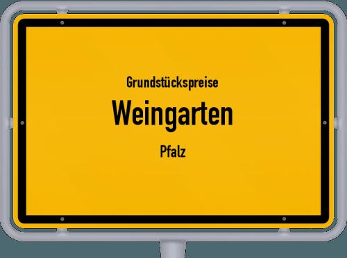 Grundstückspreise Weingarten (Pfalz) 2019