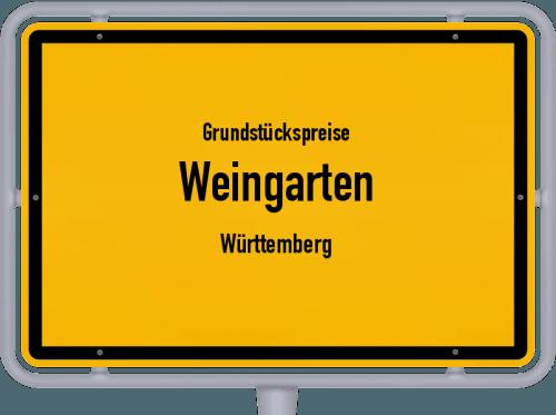 Grundstückspreise Weingarten (Württemberg) 2021