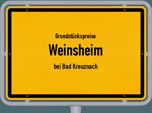 Grundstückspreise Weinsheim (bei Bad Kreuznach) 2019