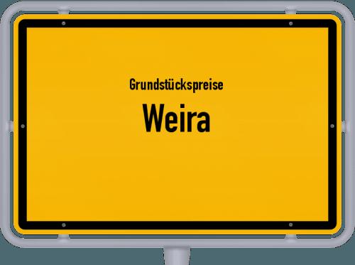 Grundstückspreise Weira 2019