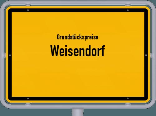 Grundstückspreise Weisendorf 2019