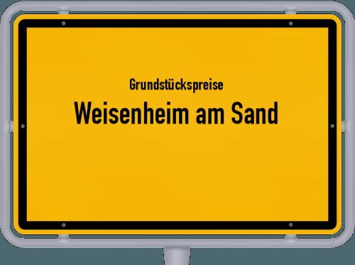 Grundstückspreise Weisenheim am Sand 2019