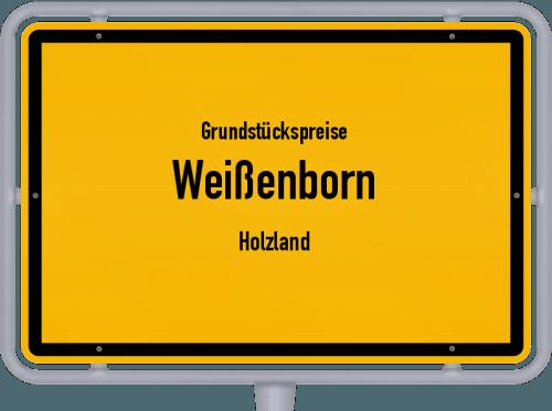 Grundstückspreise Weißenborn (Holzland) 2019