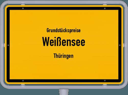Grundstückspreise Weißensee (Thüringen) 2019