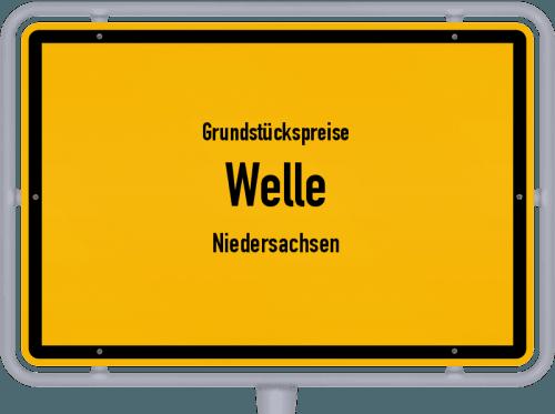 Grundstückspreise Welle (Niedersachsen) 2021