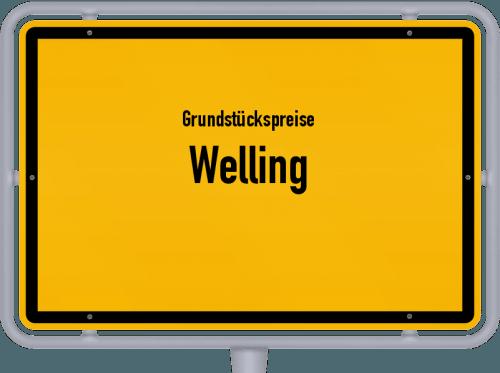Grundstückspreise Welling 2019