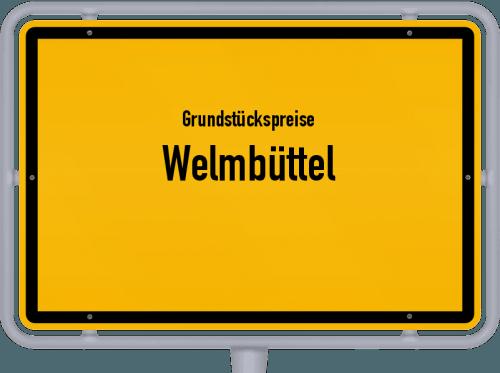 Grundstückspreise Welmbüttel 2021