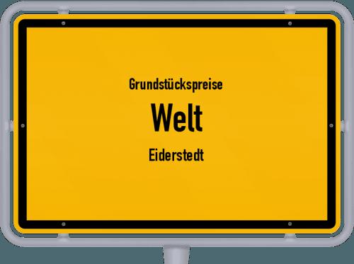 Grundstückspreise Welt (Eiderstedt) 2021