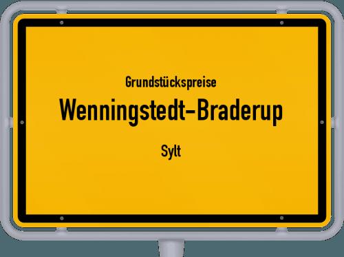 Grundstückspreise Wenningstedt-Braderup (Sylt) 2021
