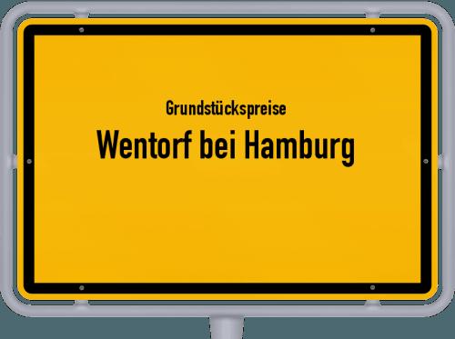 Grundstückspreise Wentorf bei Hamburg 2021
