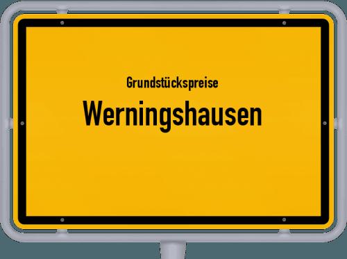 Grundstückspreise Werningshausen 2019