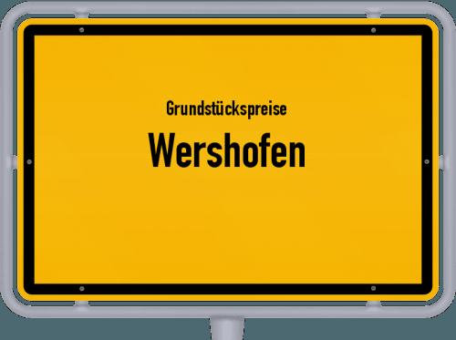 Grundstückspreise Wershofen 2019