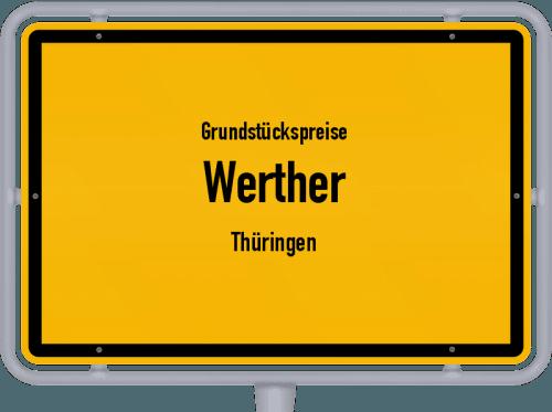 Grundstückspreise Werther (Thüringen) 2019