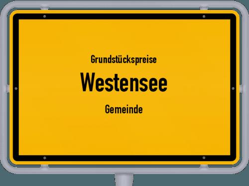 Grundstückspreise Westensee (Gemeinde) 2021
