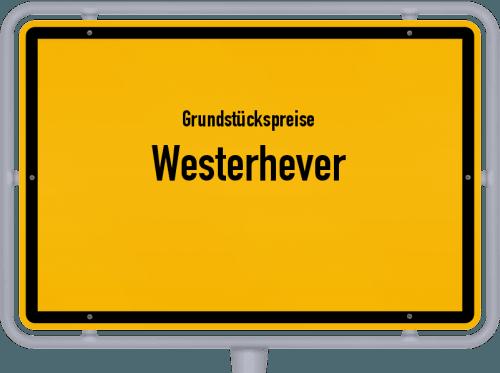 Grundstückspreise Westerhever 2021