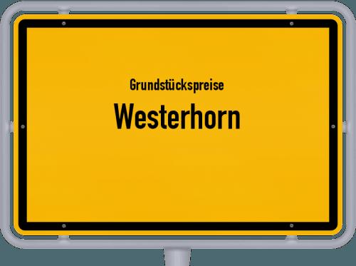Grundstückspreise Westerhorn 2021