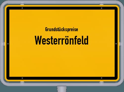 Grundstückspreise Westerrönfeld 2021