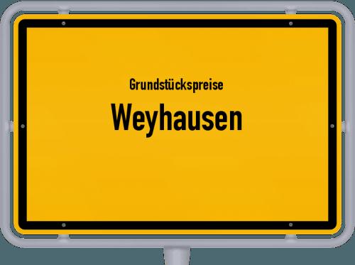 Grundstückspreise Weyhausen 2021