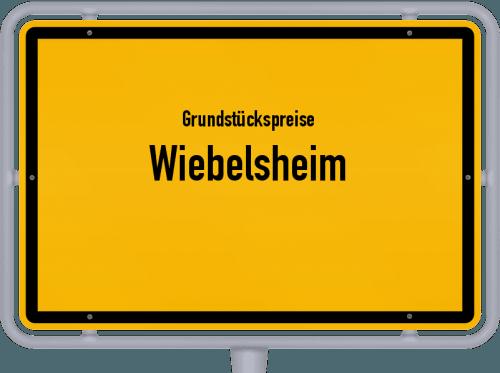 Grundstückspreise Wiebelsheim 2019