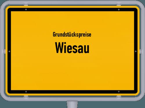 Grundstückspreise Wiesau 2019
