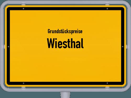 Grundstückspreise Wiesthal 2019
