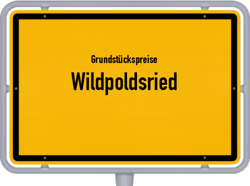 Grundstückspreise Wildpoldsried 2021
