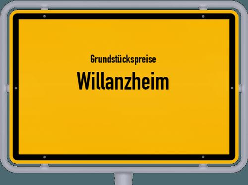 Grundstückspreise Willanzheim 2019