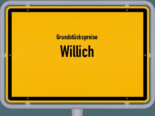 Grundstückspreise Willich 2021