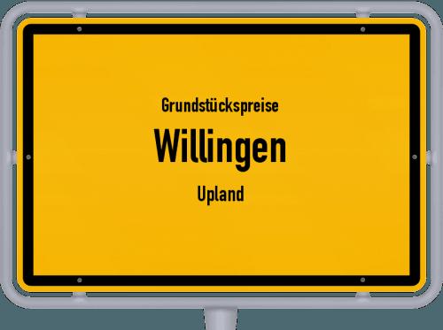 Grundstückspreise Willingen (Upland) 2019