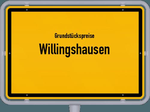 Grundstückspreise Willingshausen 2020