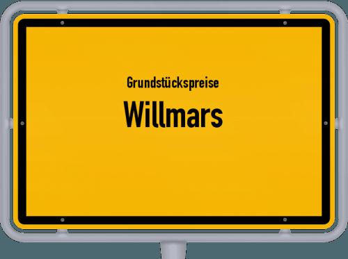 Grundstückspreise Willmars 2021