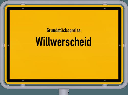 Grundstückspreise Willwerscheid 2019