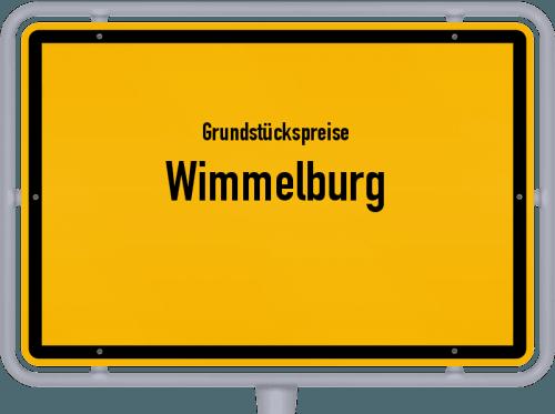 Grundstückspreise Wimmelburg 2021