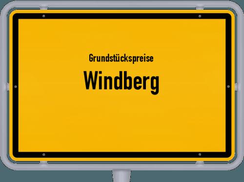 Grundstückspreise Windberg 2019